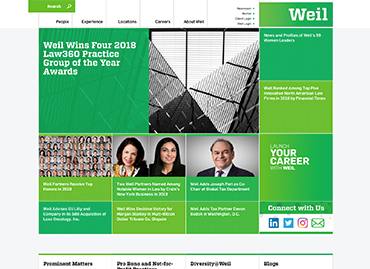 Weil - Website Design and Implementation - Altudo